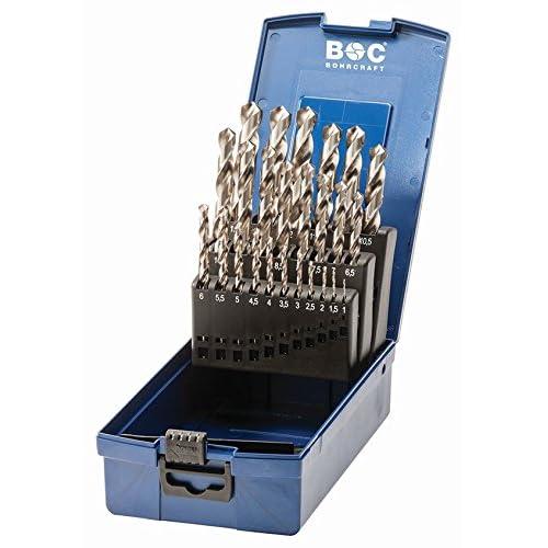 Craft spirale Set de forets HSS-G perçage dans boîte ABS kg13, 25pièces, 25pièces, diamètre 1–13x 0,5mm, 11201330025