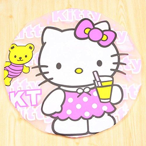 CJB Hello Kitty Bath Shower Caps Hats Drink (US Seller)