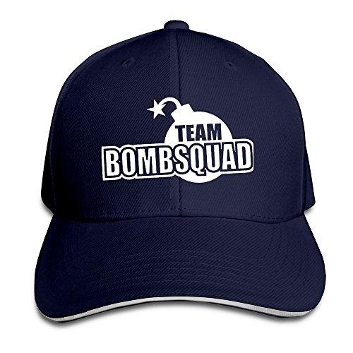Team Bomb Squad Cool Hippie Cap Headwear