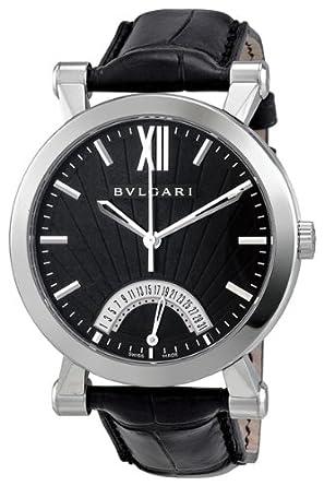 258cda29c27 Amazon.com  Bvlgari Sotirio Automatic Retrograde Date Mens Watch ...