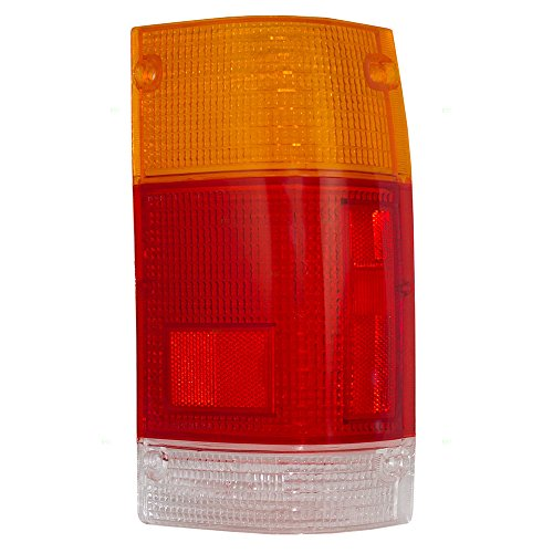 Passengers Taillight Tail Lamp Lens Replacement for Mazda Pickup Truck UB3951152A