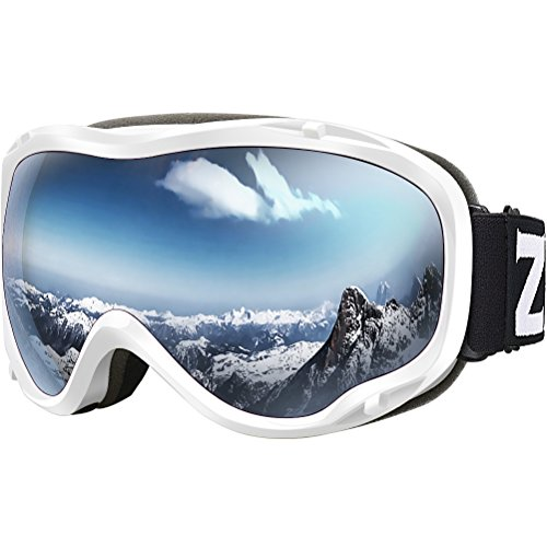 ZIONOR Lagopus Ski Snowboard Goggles UV Protection Anti-fog Snow Goggles for Men Women - You Goggles For Coupon