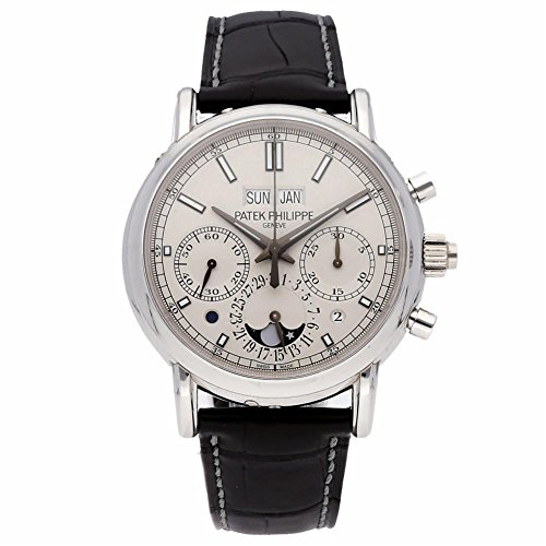 Patek Philippe Grand Complications Mechanical-Hand-Wind Male Watch 5204P-001 (Certified Pre-Owned)