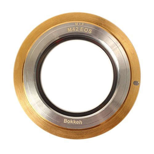 Bokkeh M42-Canon EOS EF Lens Adapter M+F Version for Mamiya SX Fujinon EBCの商品画像