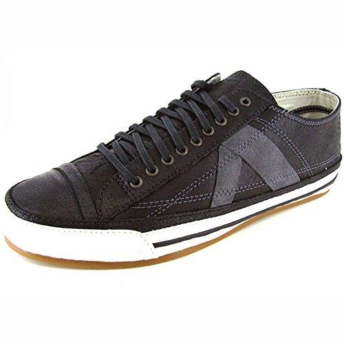 PF Flyers Unisex 'Number 5' Sneaker Shoe, Black, US 5 Mens/6.5 Womens