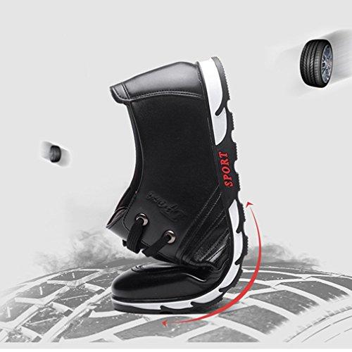 Los Color 44 y Comerciales Zapatos Bajos Porosos Hombres Asiático de no Negro Negro Zapatos De Marrón Verano Huecos del 39 Cuero Ywqw8H6