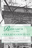 Research in the College Context, , 0415935806