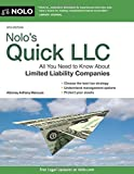 img - for By Anthony Mancuso Attorney - Nolo's Quick LLC: All You Need to Know About Limited Liability Co (Eighth Edition) (2015-03-14) [Paperback] book / textbook / text book