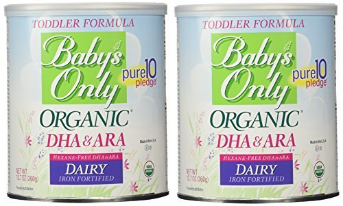 Amazon.com: Babys Only Organic Dairy with DHA & ARA Formula, 12.7 ...