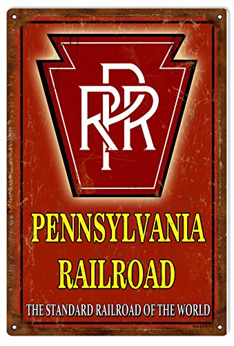 Victory Vintage Signs PRR Pennsylvania Railroad Sign