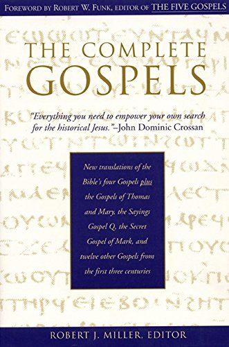 The Complete Gospels : Annotated Scholars Version (Revised & expanded)