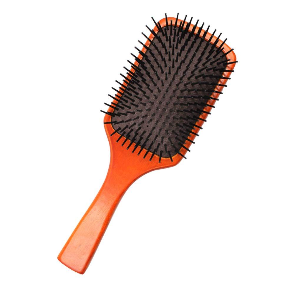 Lurrose Cepillo del masaje del cuero cabelludo de la cabeza del peine del masaje del saco hinchable del peine del amortiguador de aire