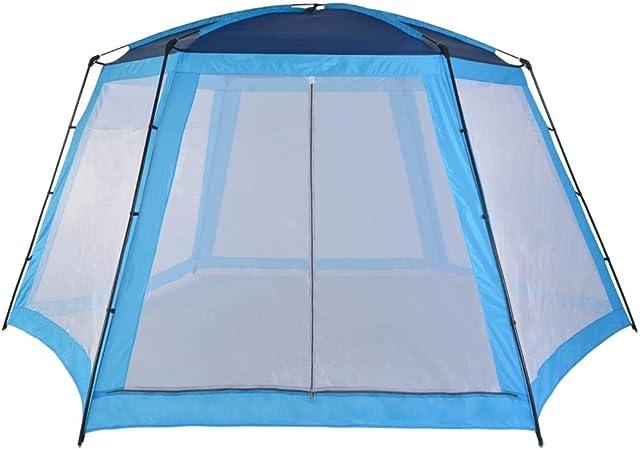 Vidaxl Tente De Piscine Abri De Soleil Tente De Plage Abri De Protection Uv Auvent Jardin Terrasse Cour Extérieur Tissu 590x520x250 Cm
