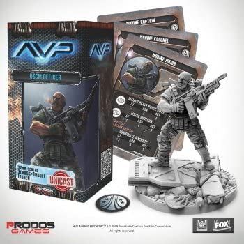 Alien vs Predator: USCM Officer Set - English: Amazon.es: Juguetes y juegos