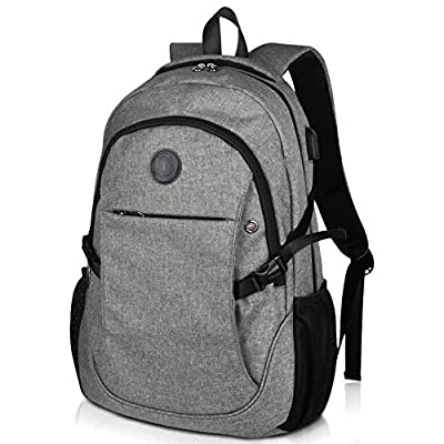"Laptop School Backpacks 15.6"" College Business Travel Backpack by EASTERN TIME"