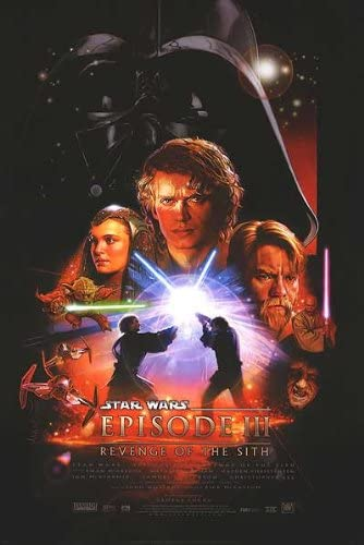 Poster Star Wars Episode Iii Revenge Of The Sith Original Movie Poster At Amazon S Entertainment Collectibles Store
