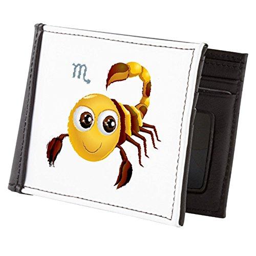 Teague Men's Scorpio Zodiac Truly Truly Billfold Wallet Teague SmileyFace Eqgxwvna