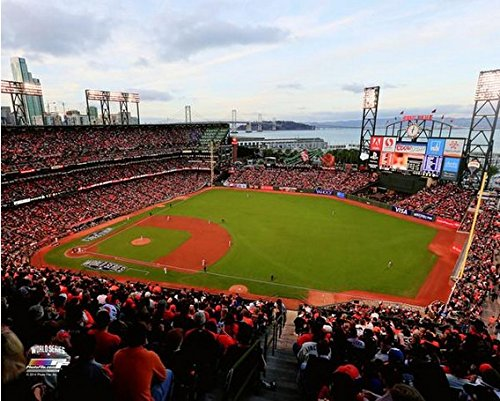 (AT&T Park San Francisco Giants 2014 World Series Stadium Photo (Size: 11