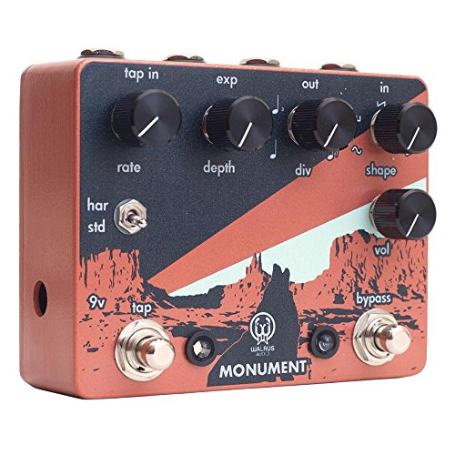 Monument Harmonic Tap Tremolo by Walrus Audio