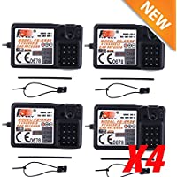 Chonlakrit LOT 4X FlySky Upgraded 3CH 2.4G FS-GR3E GR3C GT3B Receiver For Rc Car Rc Boat EK