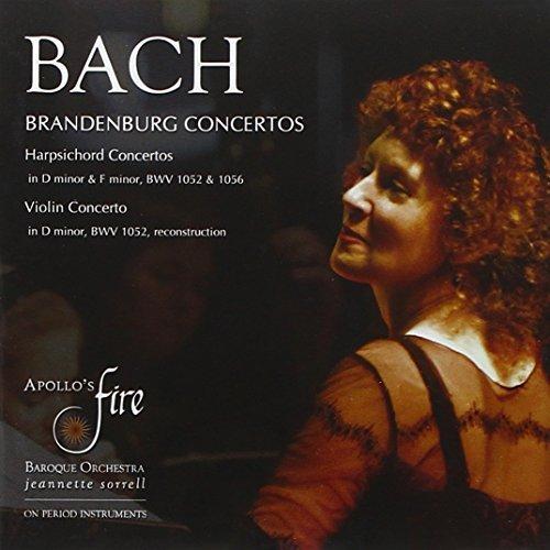 Price comparison product image Bach: Brandenburg Concertos,  Harpsichord & Violin Concertos (2010-07-13)