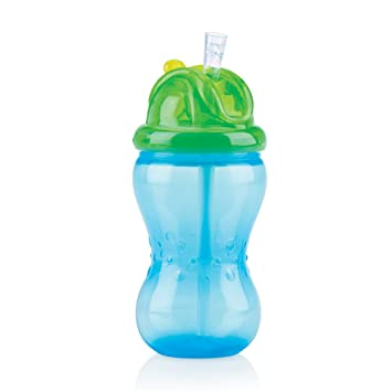 nuby trinkflasche trinkhalm