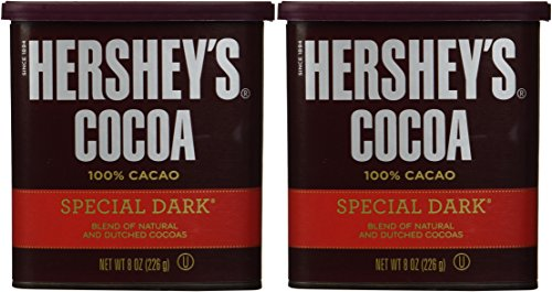 Hershey's Special Dark Cocoa, 8-Ounce Container (Pack of ()