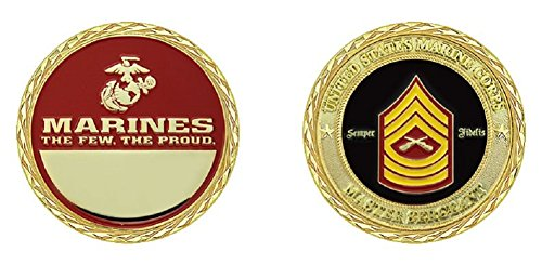 Marine Corps Master Gunnery Sergeant Challenge Coin ()