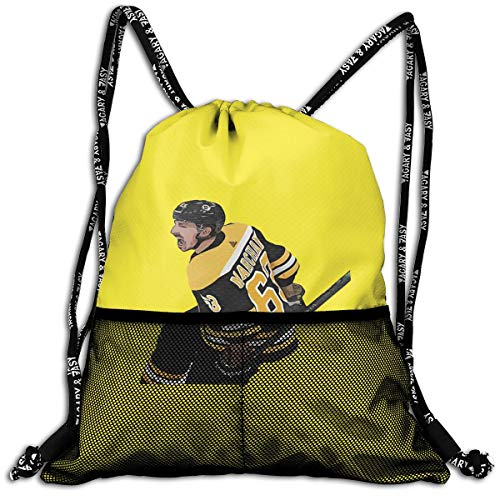(Drawstring Backpack Black Boston Marchand Text Pic Shoulder Bags Rucksack For Kids Teens Boys And Girls Sport Gym Sack Cute Gym Bags)