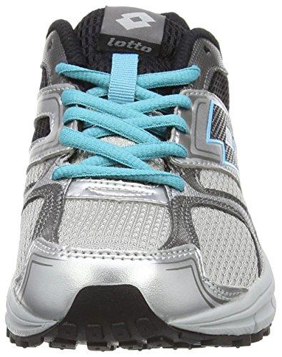 Grau Femme Course Zenith de W Mt Blk Gris Silv VII Lotto Chaussures fwXxq8qY