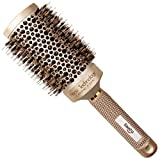 Baasha Extra Large Round Brush 3 Inch, Hair Brush With Boar Bristle,...