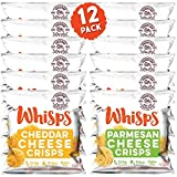Whisps Cheese Crisps Single Serve 12 Pack Variety