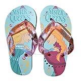 Disney Princess Flip Flops 7.5-8.5 Footwear