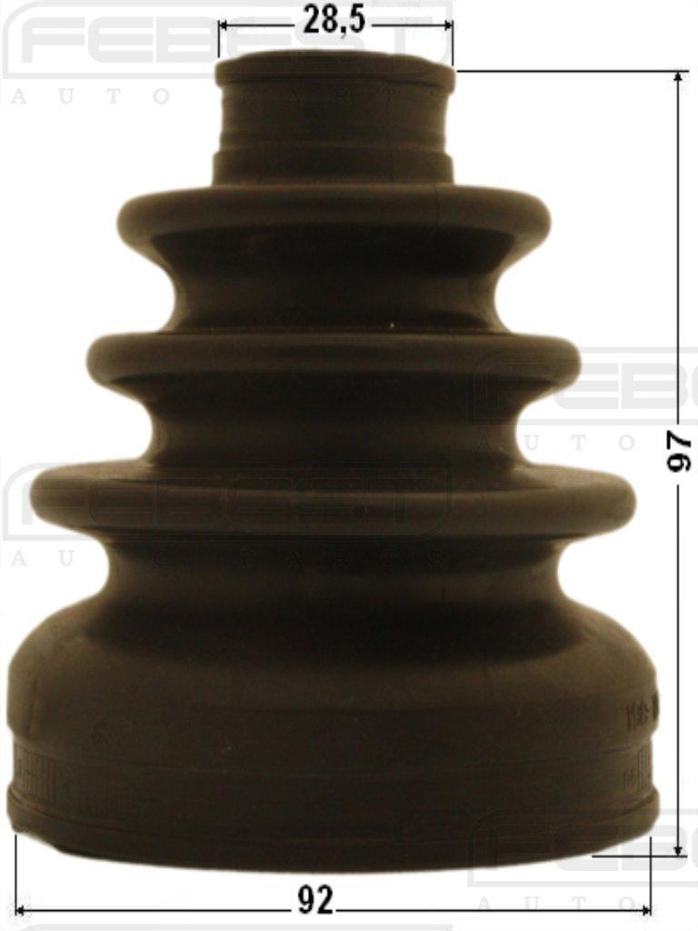 Boot Inner Cv Joint Kit 39741-EA125 Febest # 0215-R51R37-1. 92X97X28.5