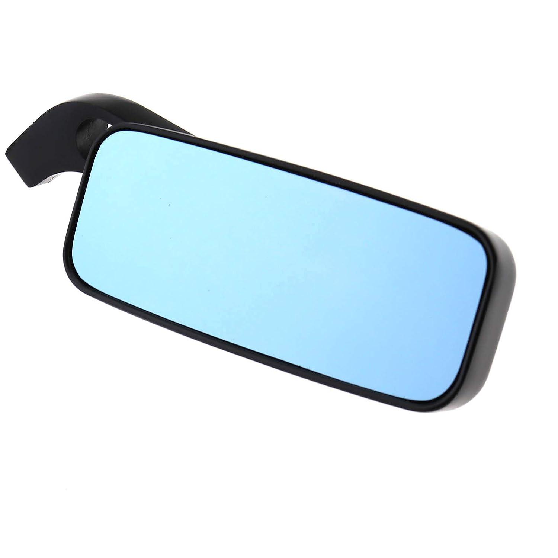 ENET Motorcycle Wing Side Mirrors Motorbike Rectangle Anti-glare Rearview Black Part