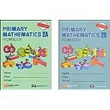 Primary Mathematics Grade 2 WORKBOOK SET--2A and 2B