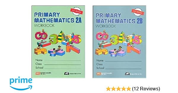 Primary Mathematics Grade 2 WORKBOOK SET--2A and 2B: Amazon.com: Books