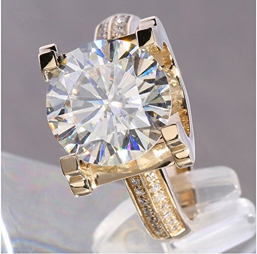 Industrial Light And Magic Near Me: GOWE 5ct Carat Lab Grown Moissanite Wedding Engagement