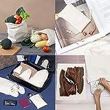 100 Percent Cotton Muslin Drawstring Bags 12-Pack