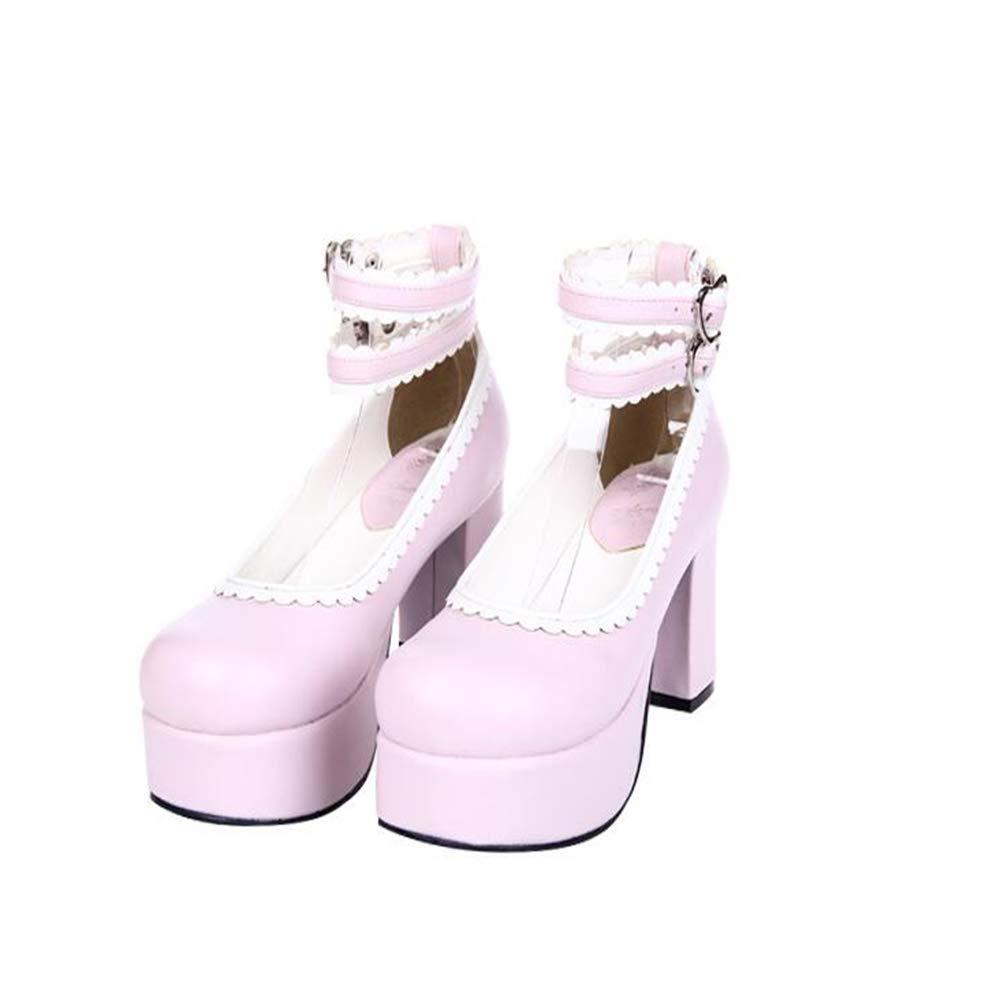 PINGXIANNV Mori Mori Mori Damenschuhelolita Damenschuhe Damen High Heels Damen Prinzessin Kleid Schuhe 56693d