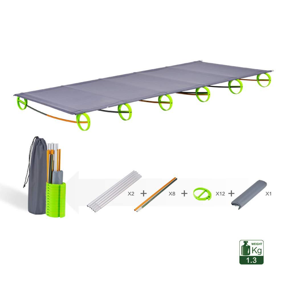 MIMI Outdoor KING Outdoor MIMI Portable Camping Bed Faltbare Schlafende Mittagspause Bett Leicht Multifunktional Für Erwachsene Jugend-Reise-Lager Bett 09ebb4