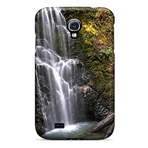 Excellent Galaxy S4 Case Tpu Cover Back Skin Protector Hdr Waterfall