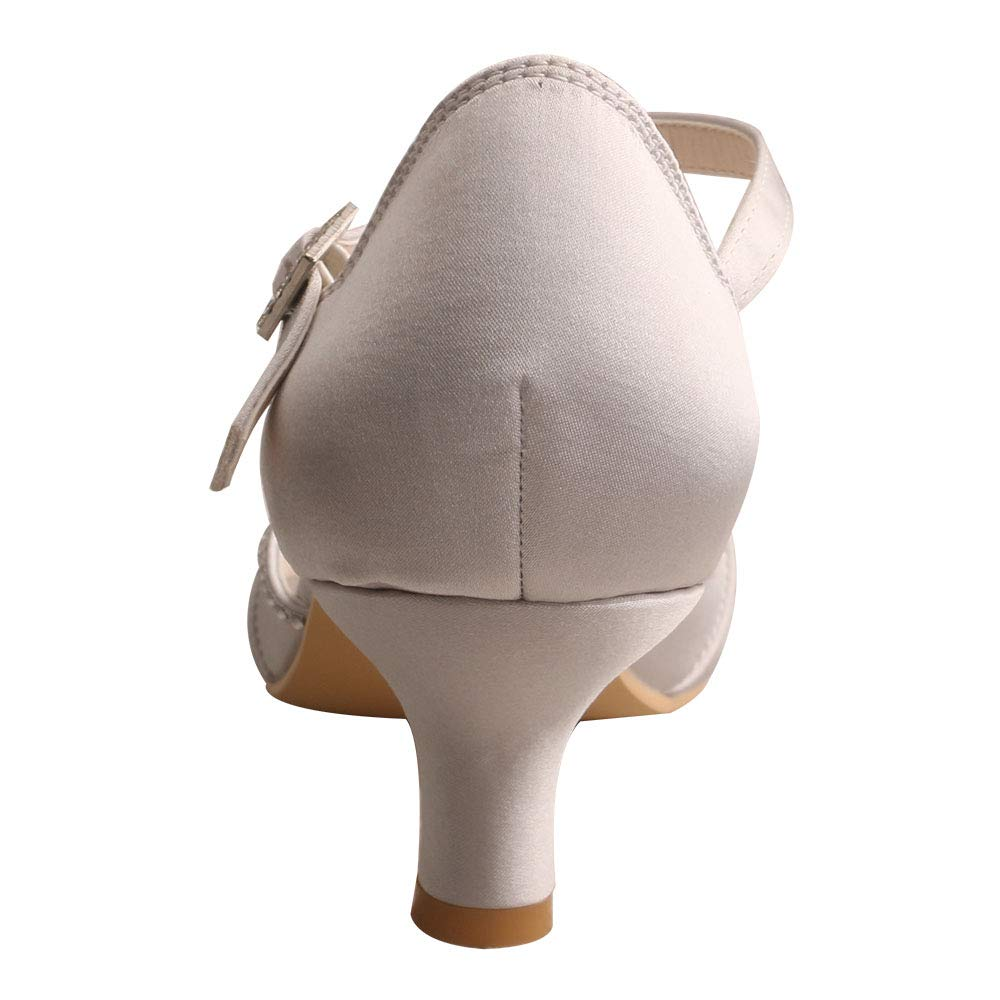 Amazon.com: Wedopus MW033B Mary Jane - Zapatos de baile de ...