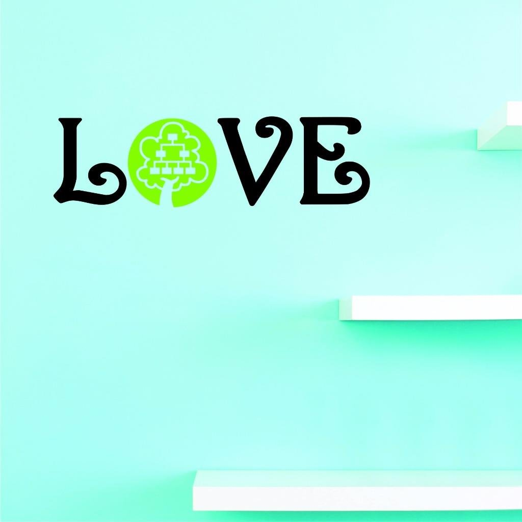 Multi 6 x 20 6 Inches X 20 Inches Color Design with Vinyl US V JER 2688 1 Top Selling Decals Love Family Tree Wall Art Size