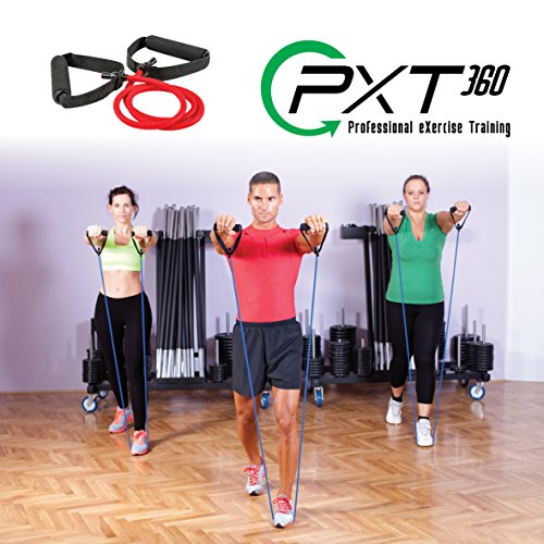 PXT360 Weights Resistance Workout And Exercise Tube Band
