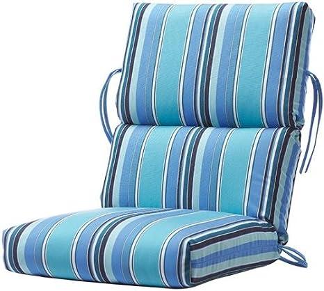 Amazon.com : Bullnose High Back Outdoor Chair Cushion, 4