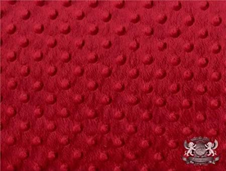 Perfect Size a Toddler or Child Minky Blanket Baseball Print Minky with Black Background with Red Dimple Dot Minky Backing