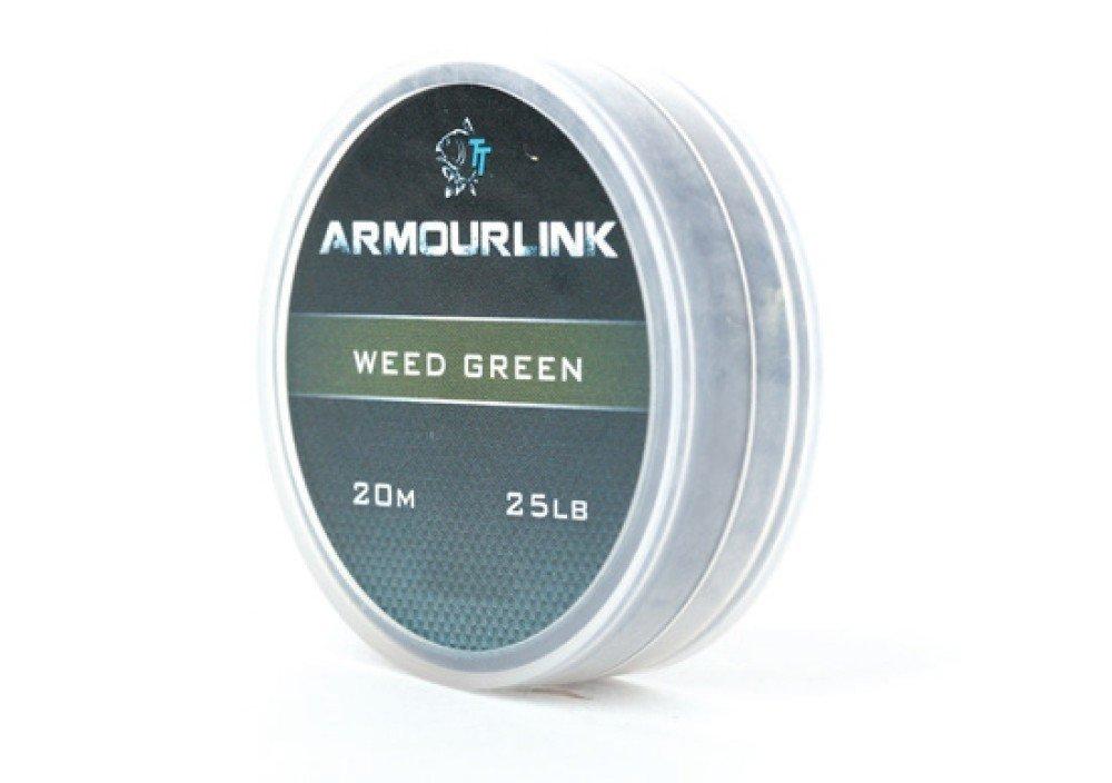 Nash Armourlink 20m Weed Green 25lb Vorfach Karpfenvorfach Vorfachmaterial
