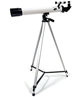 414b465c95798 Amazon.com : 50x / 100x Refractor Telescope with Adjustable Tripod ...