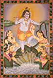 The First Offence of One's Child Deserves to be Forgiven (Bhagavata Purana 10.16.51) - Water Color P